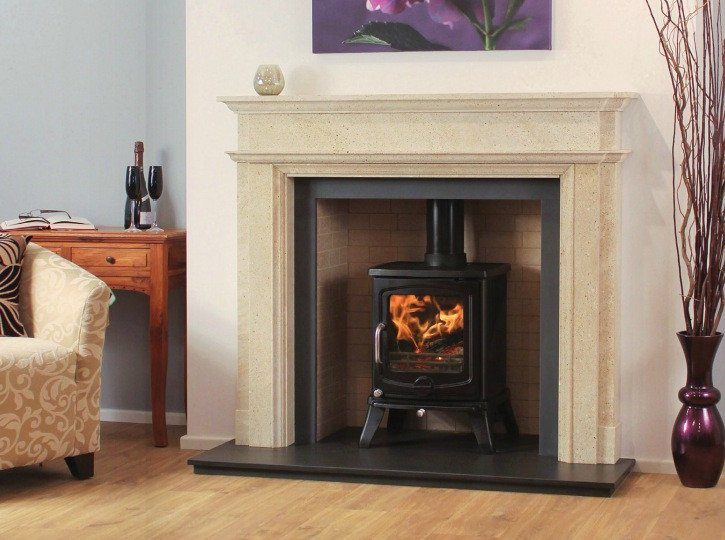 Newman Natural Stone Fire Surrounds Showroom In West